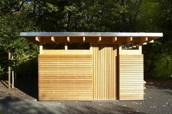 Modernes Gartenhaus beautiful modernes gartenhaus flachdach contemporary best
